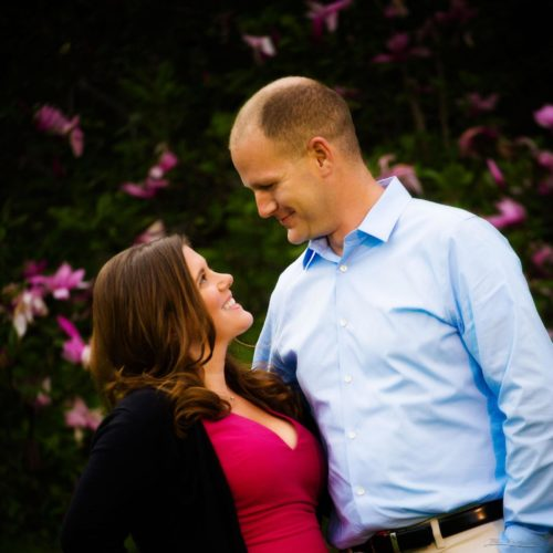 Karen and Corey's Engagement Pictures at Boston's Arnold Arboretum