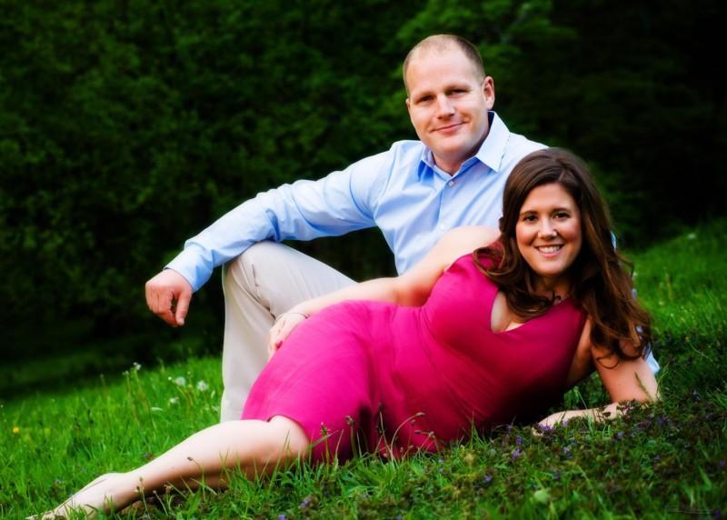 Boston engagement pictures at Arnold Arboretum
