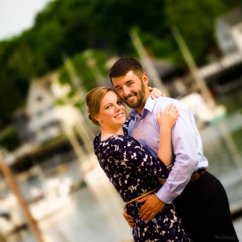 Camden Maine engagement pictures photoshoot