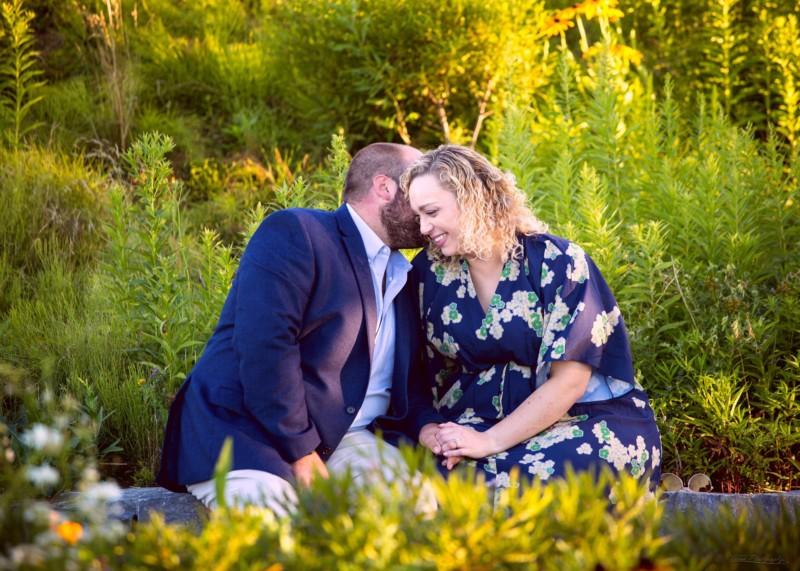 Portland, Maine engagement pictures at Fort Williams Park in Cape Elizabeth