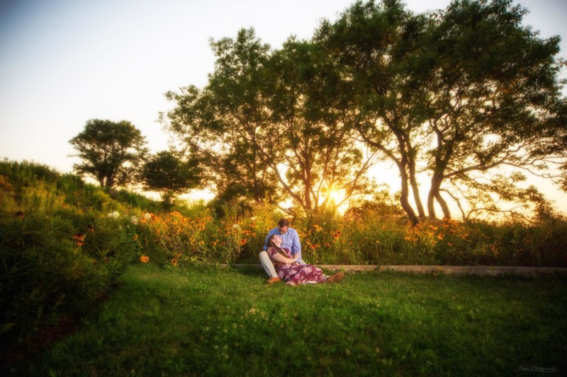 Portland, Maine engagement pictures at Fort Williams Park