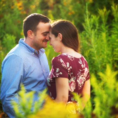 Portland, Maine engagement pictures at fort williams