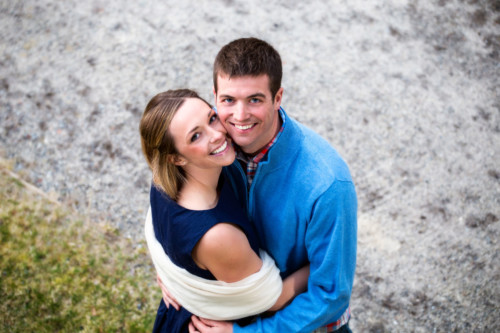 engagement photos in Maine at gilsland farm - audobon center