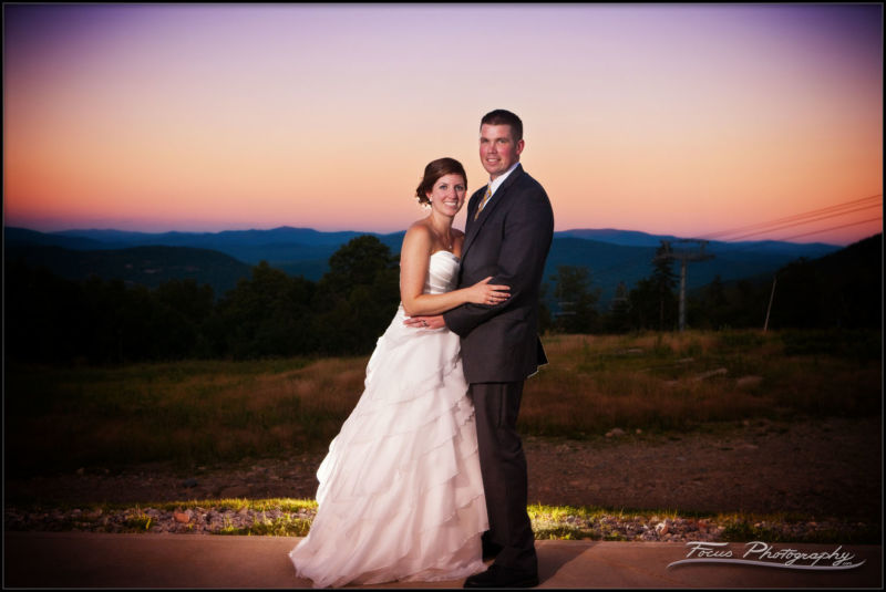 The Sunday River Wedding of Dan and Colleen