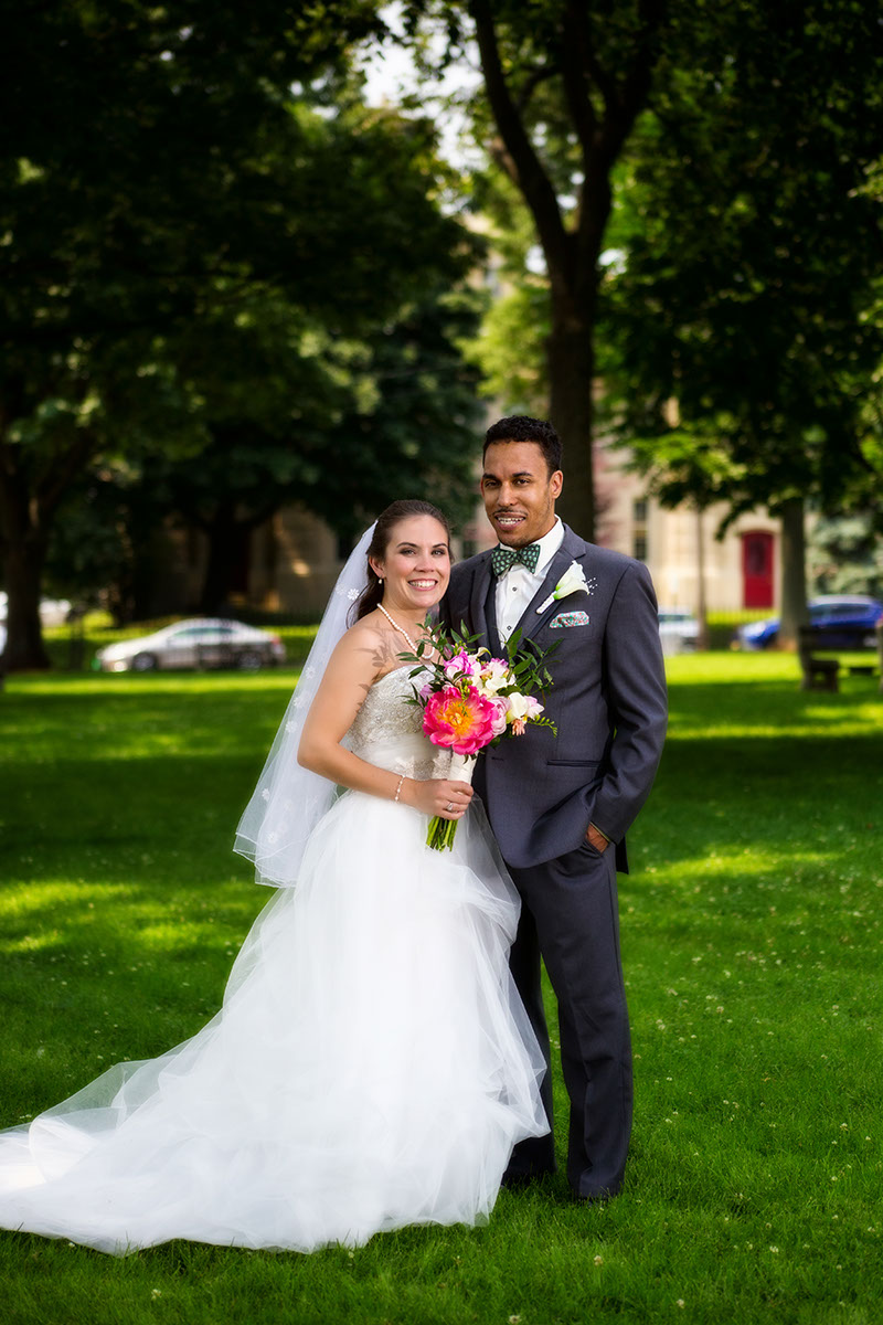 Downtown Portland Wedding of Nickole and Justin