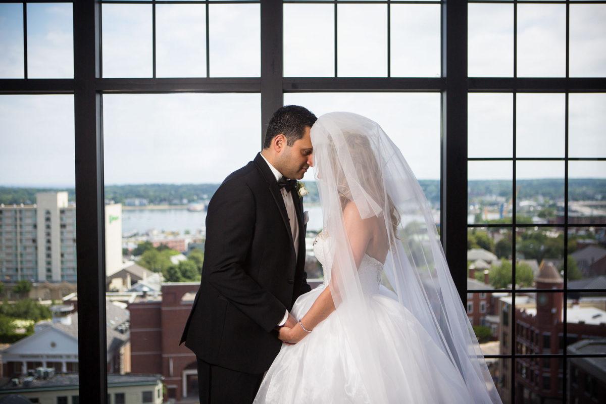 Ashly and Misagh's Wedding at the Westin Portland