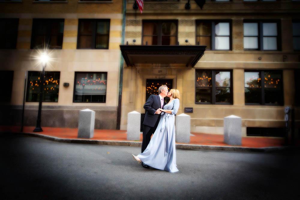 Mark and Vicki at the Press Hotel
