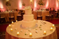 Cake by Jacques; flowes by Jardinierre