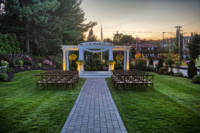 Ceremony Site at Sunset