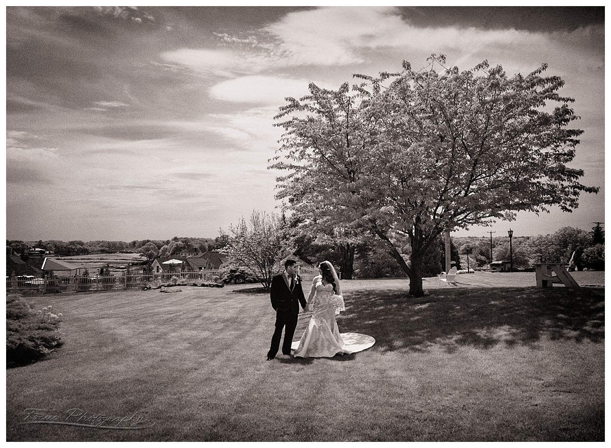 Wentworth by the sea wedding photography, Infrared Photography