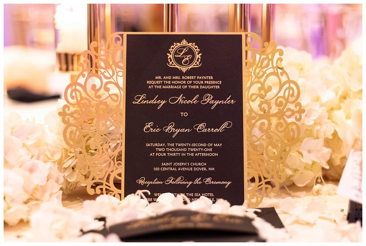 Wentworth by the sea wedding photography, Wedding Invitations