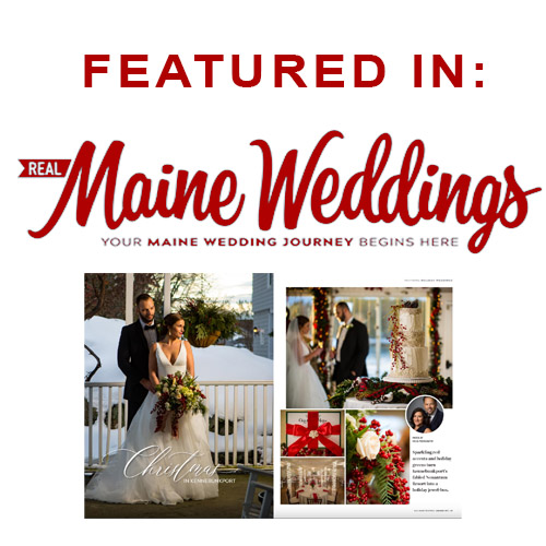 Featured in Real Maine Weddings