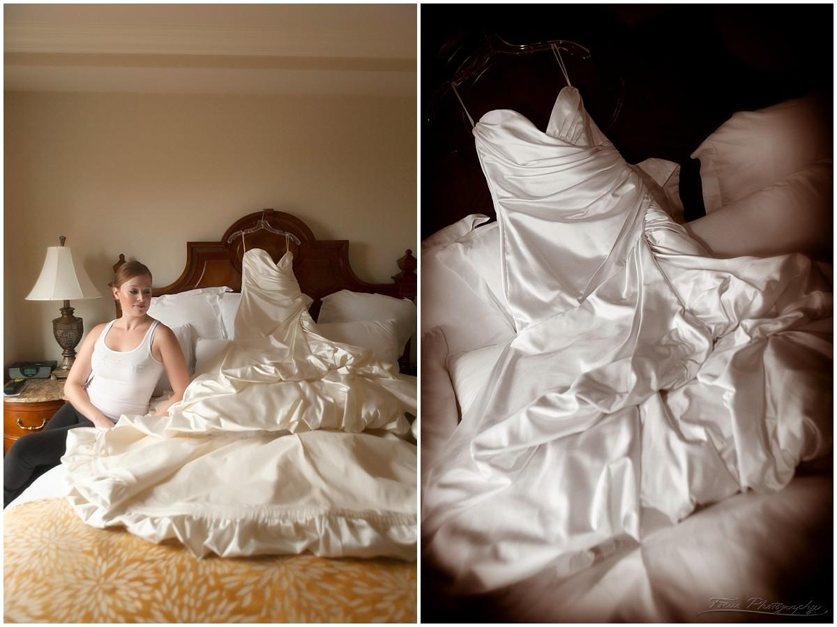 wentworth wedding bride getting ready