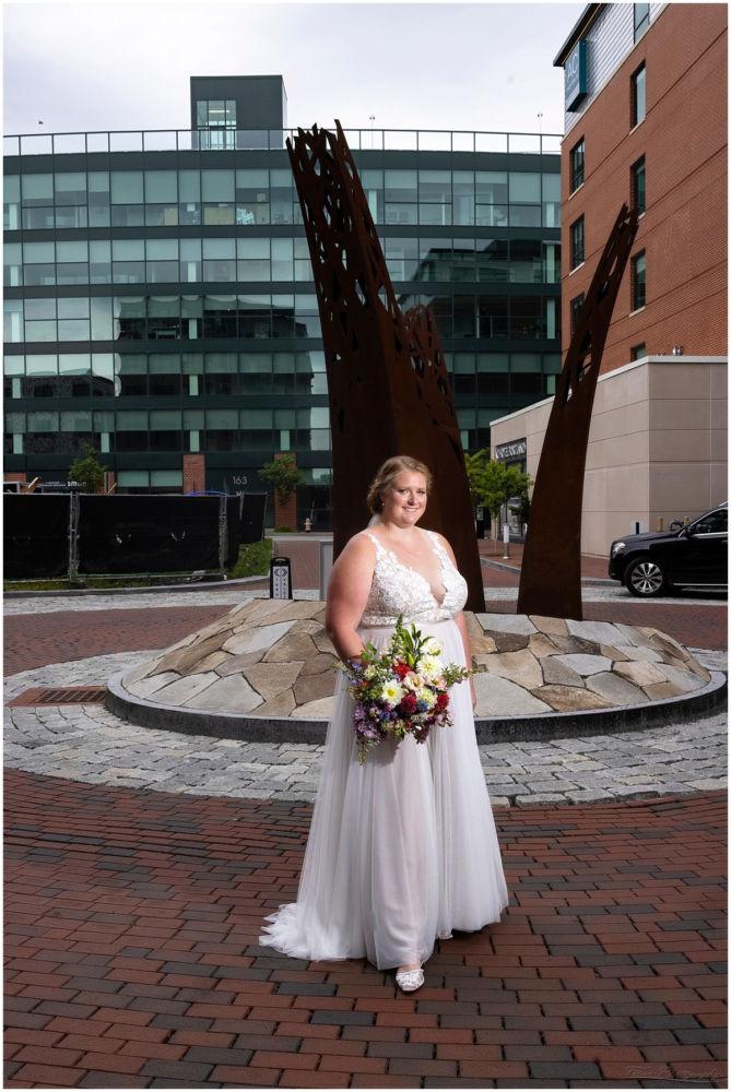 Wedding preperation bride at AC Hotel