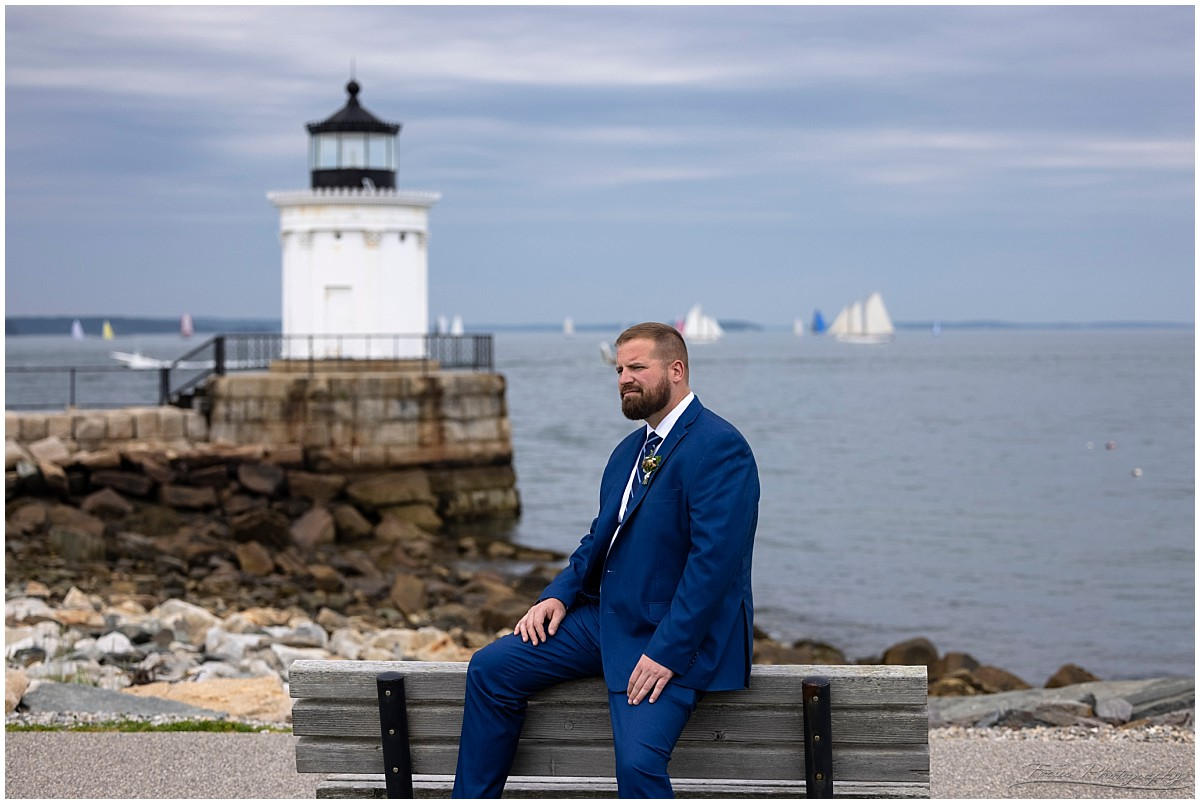 Craig at Bug's Light.  Fun fact, Allen's coffee brandy is now available in a bug light collectible bottle (it's true).