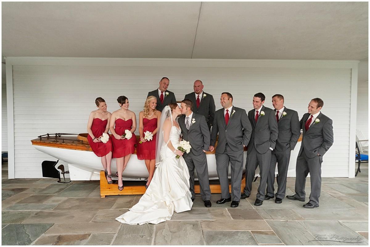 wedding party wentworth porch