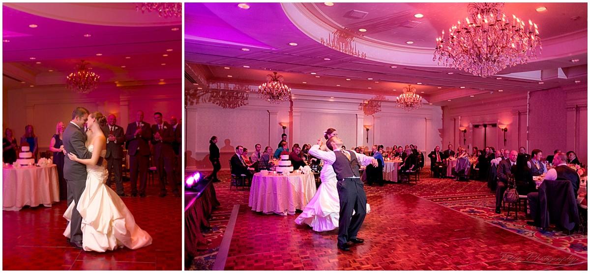 wedding reception at wentworth