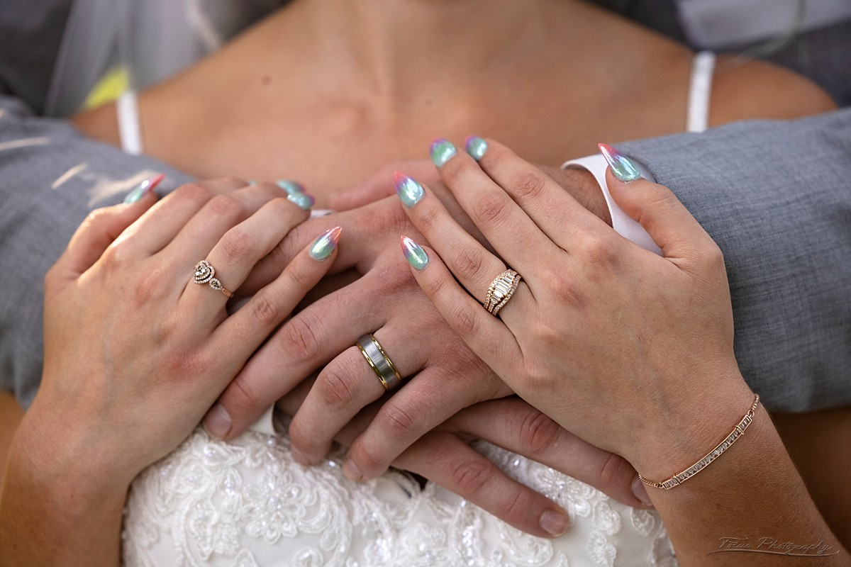 wedding rings after ceremony