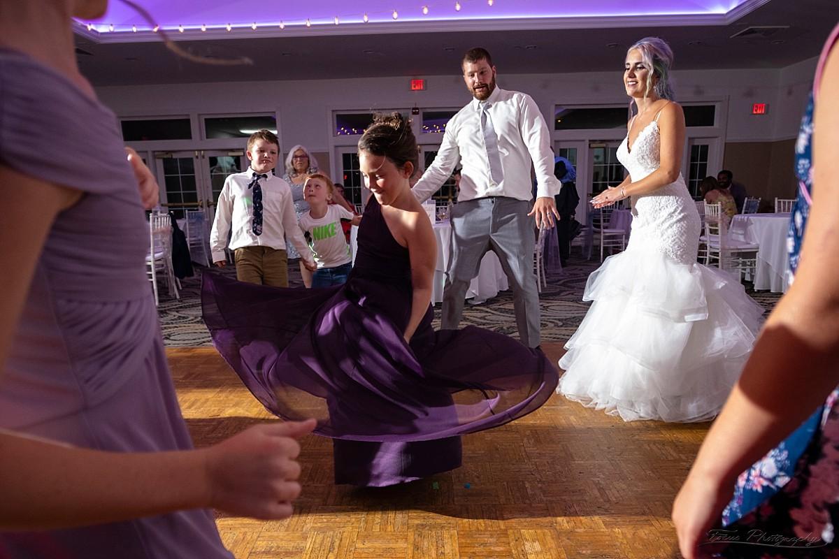 Spinning dress