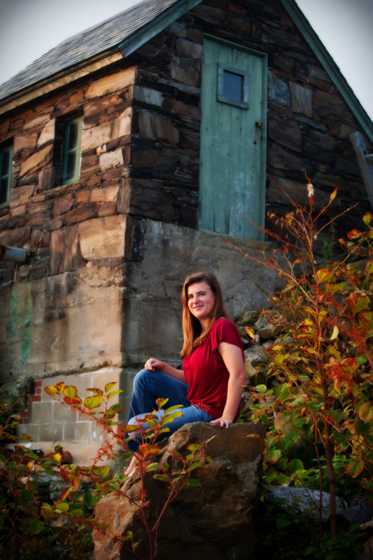 high school girl photographed at beach house in scarborough maine