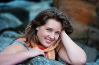 senior pictures at beach