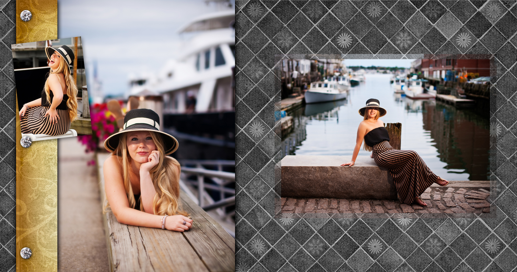 Portland's downtown and old port are location for senior photos
