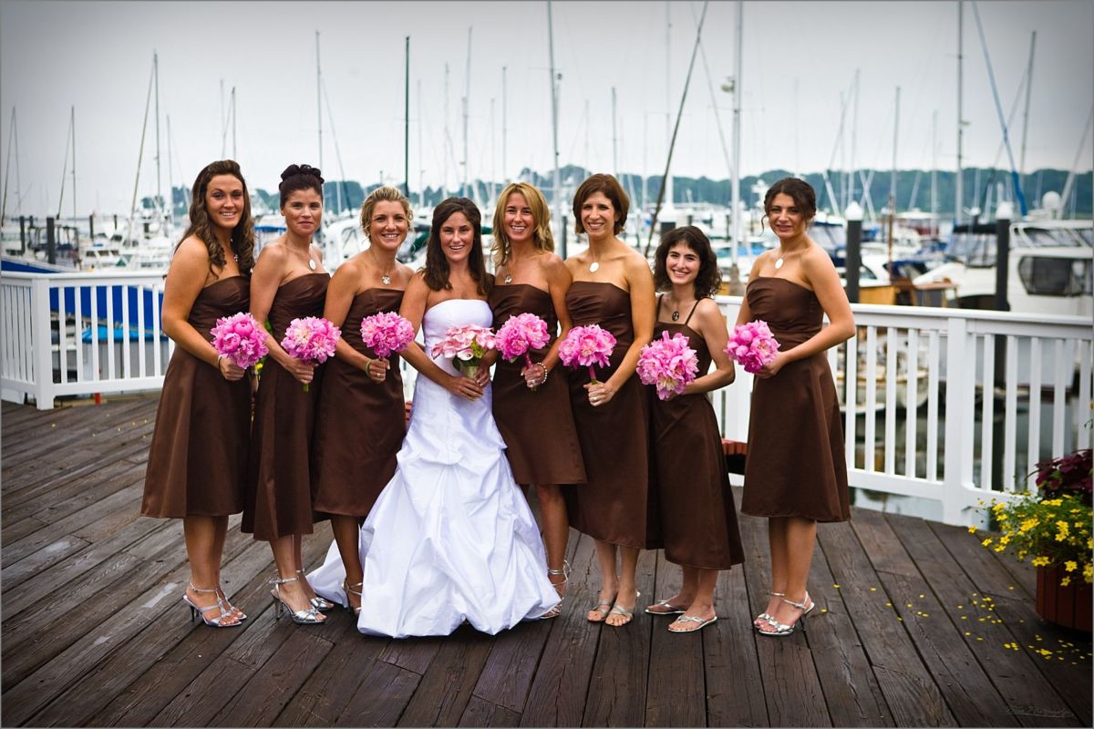 Wentworth by the Sea Wedding Pictures of bridal party