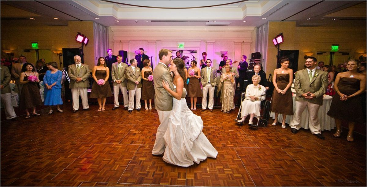 Wentworth by the Sea Wedding Photographers capture first dance of couple