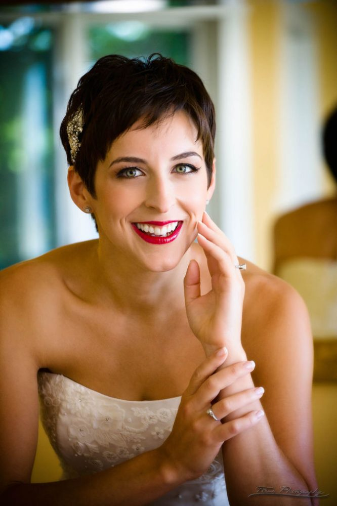 great hair and makeup at Samoset Resort Wedding in Rockport, Maine