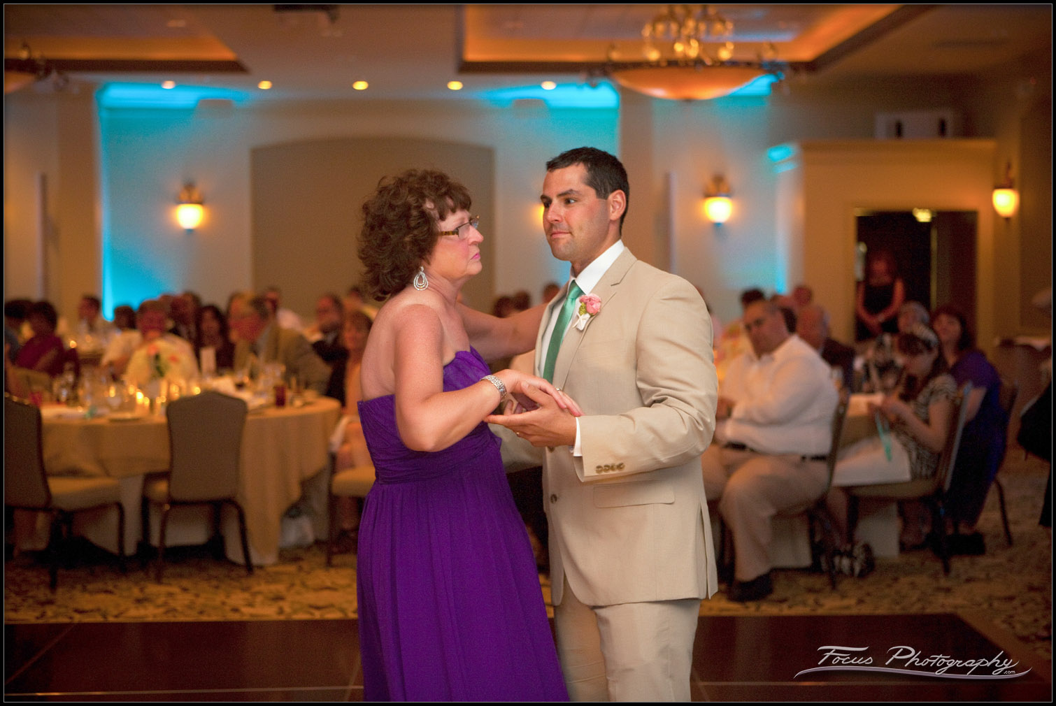 the groom and his mother dance