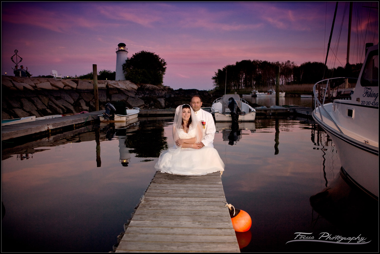 Maine Wedding Photography by focus