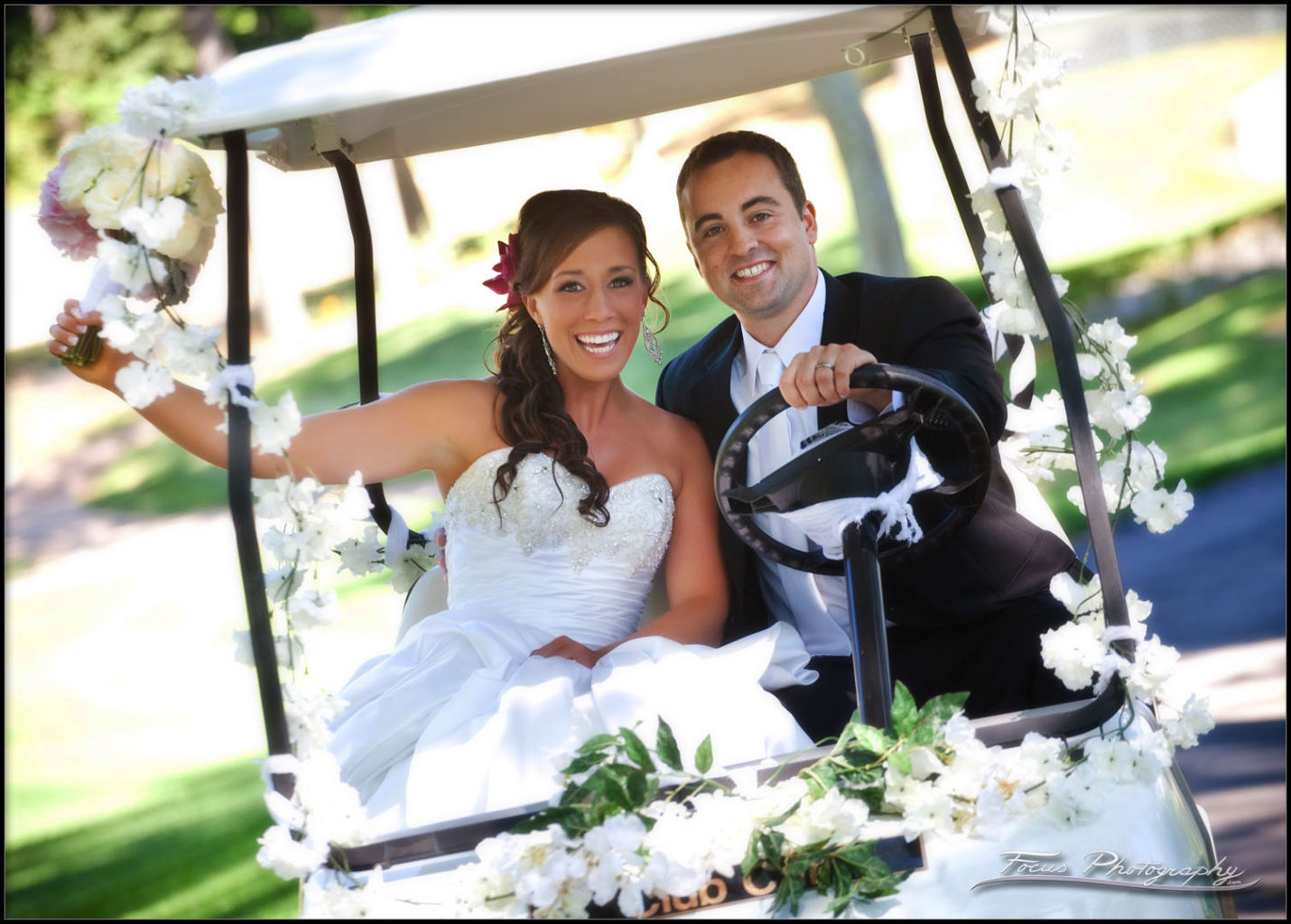 Dunegrass Golf Club Wedding of Melanie and Ben