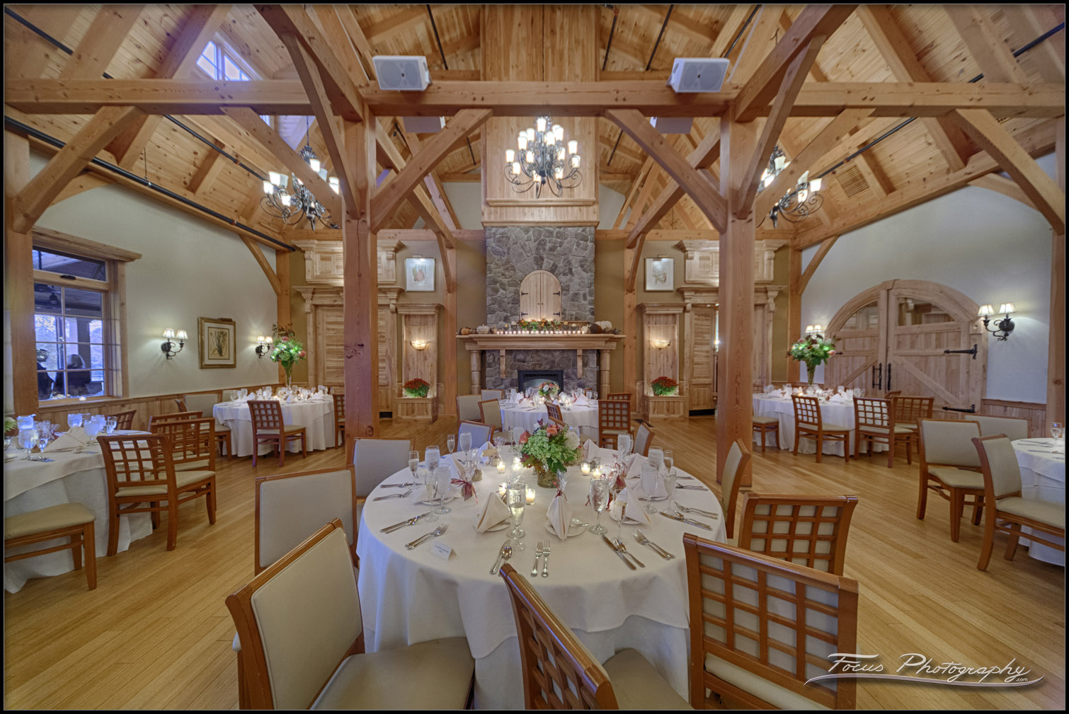 Ballroom at Red Barn in South Berwick, Maine