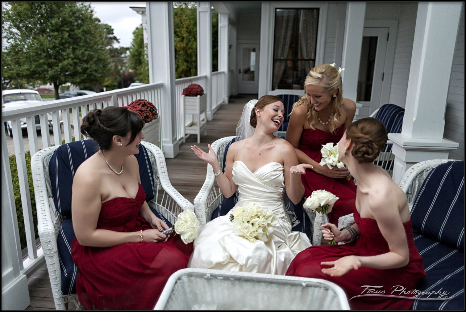 wentworth wedding bride and bridesmaids