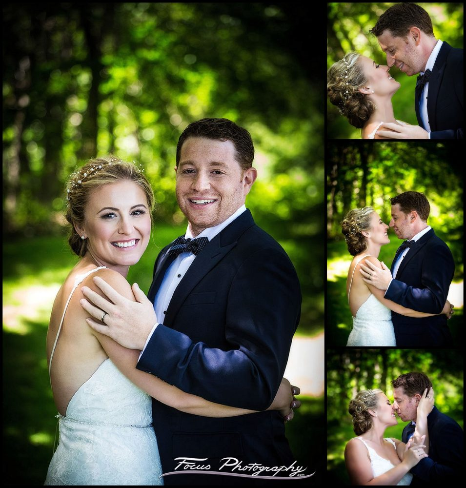 David and Liz - portraits of the wedding couple at Grey Havens Inn - Georgetown, Maine