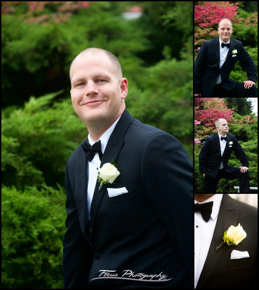 groom  at Wentworth by the Sea wedding in New Castle, New Hampshire