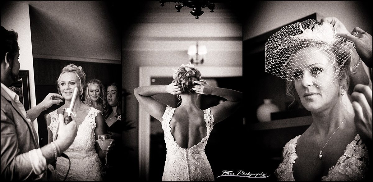 bride at portland harbor hotel gets ready for DiMillo's wedding