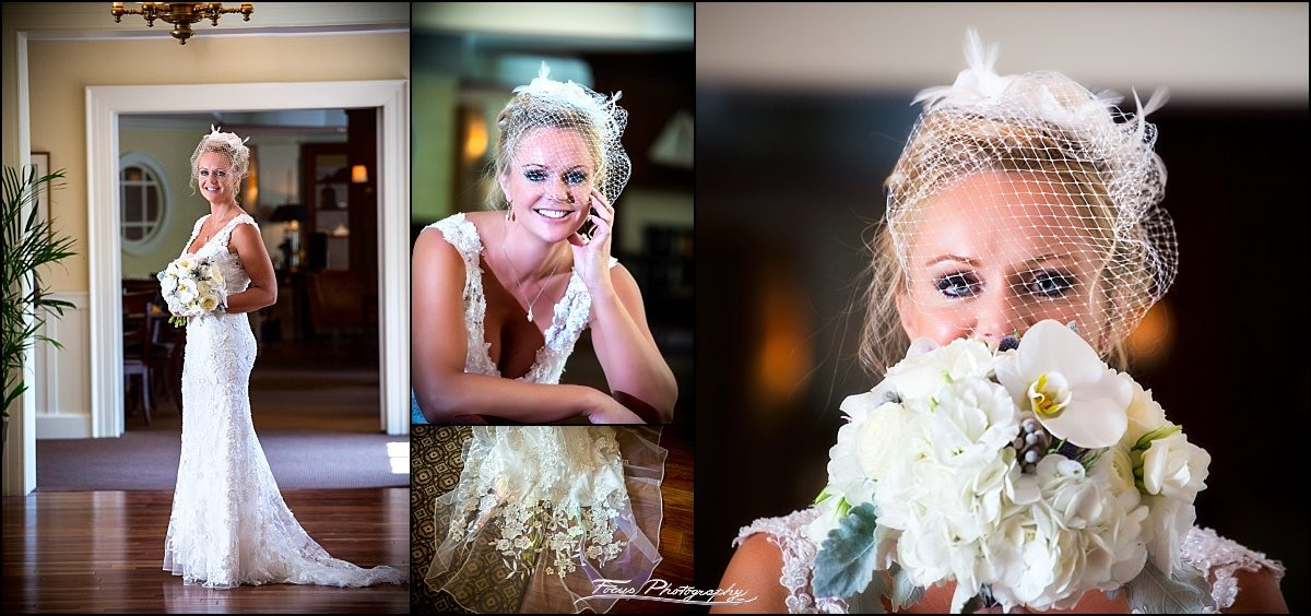 bridal portraits at portland harbor hotel before DiMillo's wedding