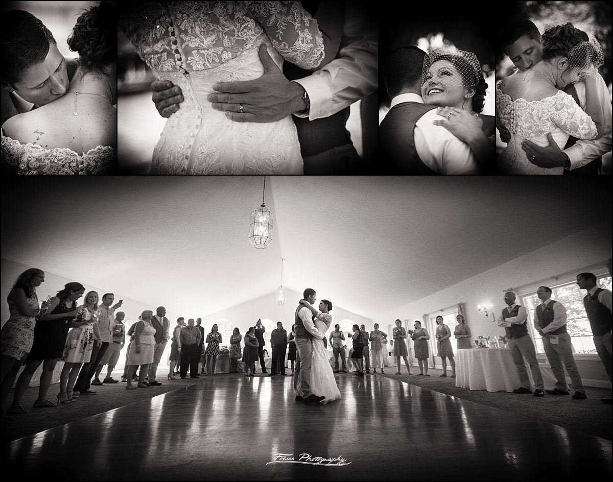 first dance  at Dunegrass Golf Club Wedding in Old Orchard Beach, Maine