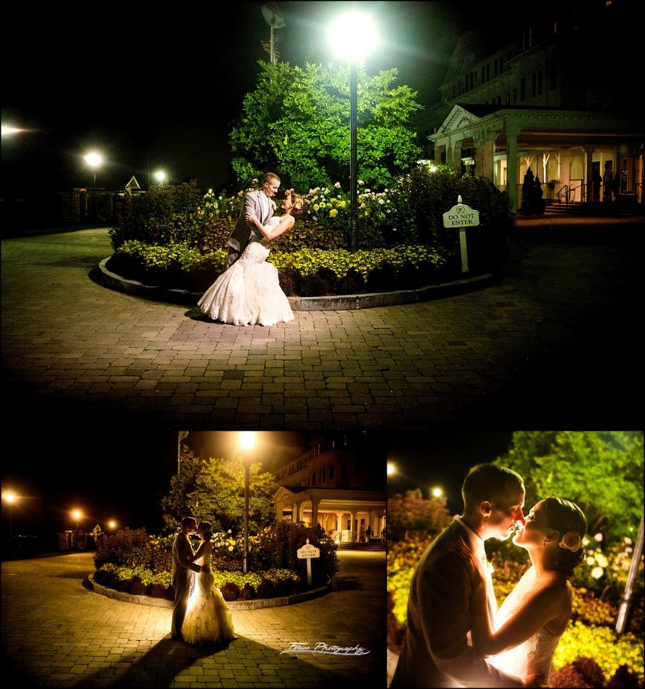 end of night pictures of bride and groom by wentworth by sea wedding photographers will and lucia of focus photography