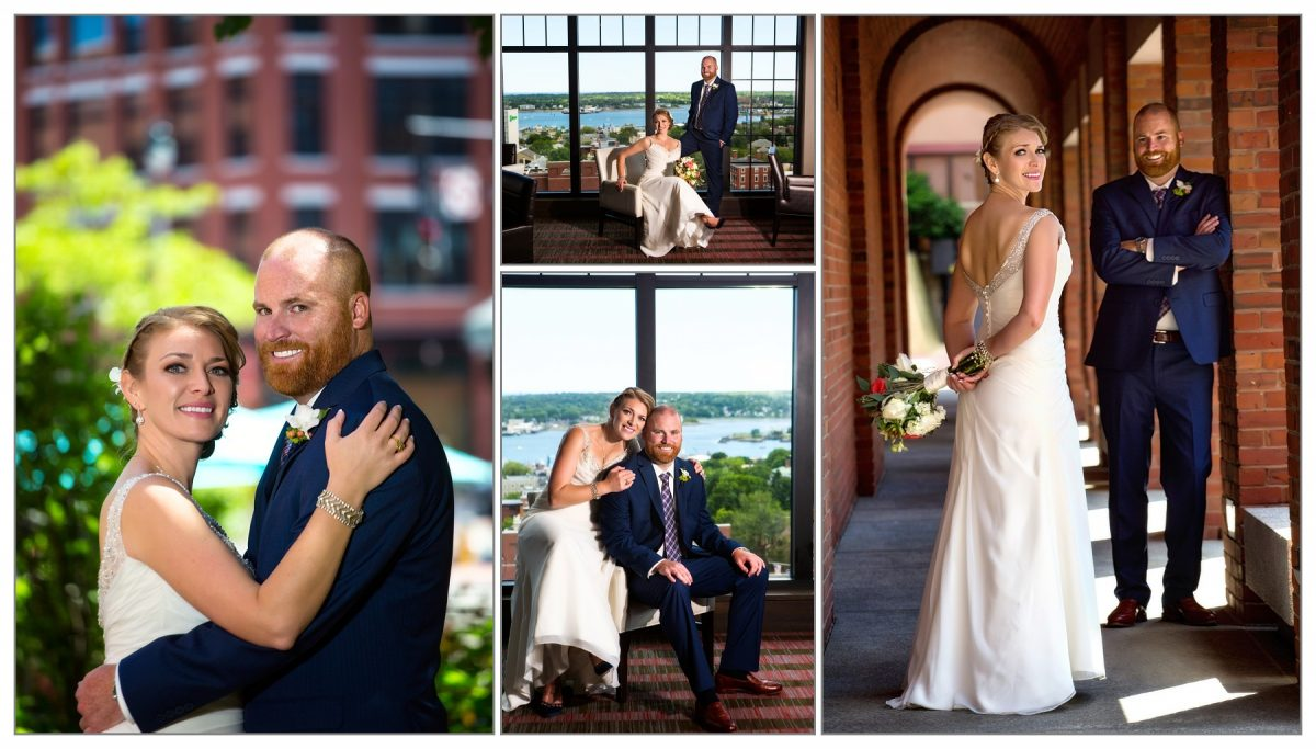 wedding pictures - portland, maine - at westin, top of the east, and museum of art