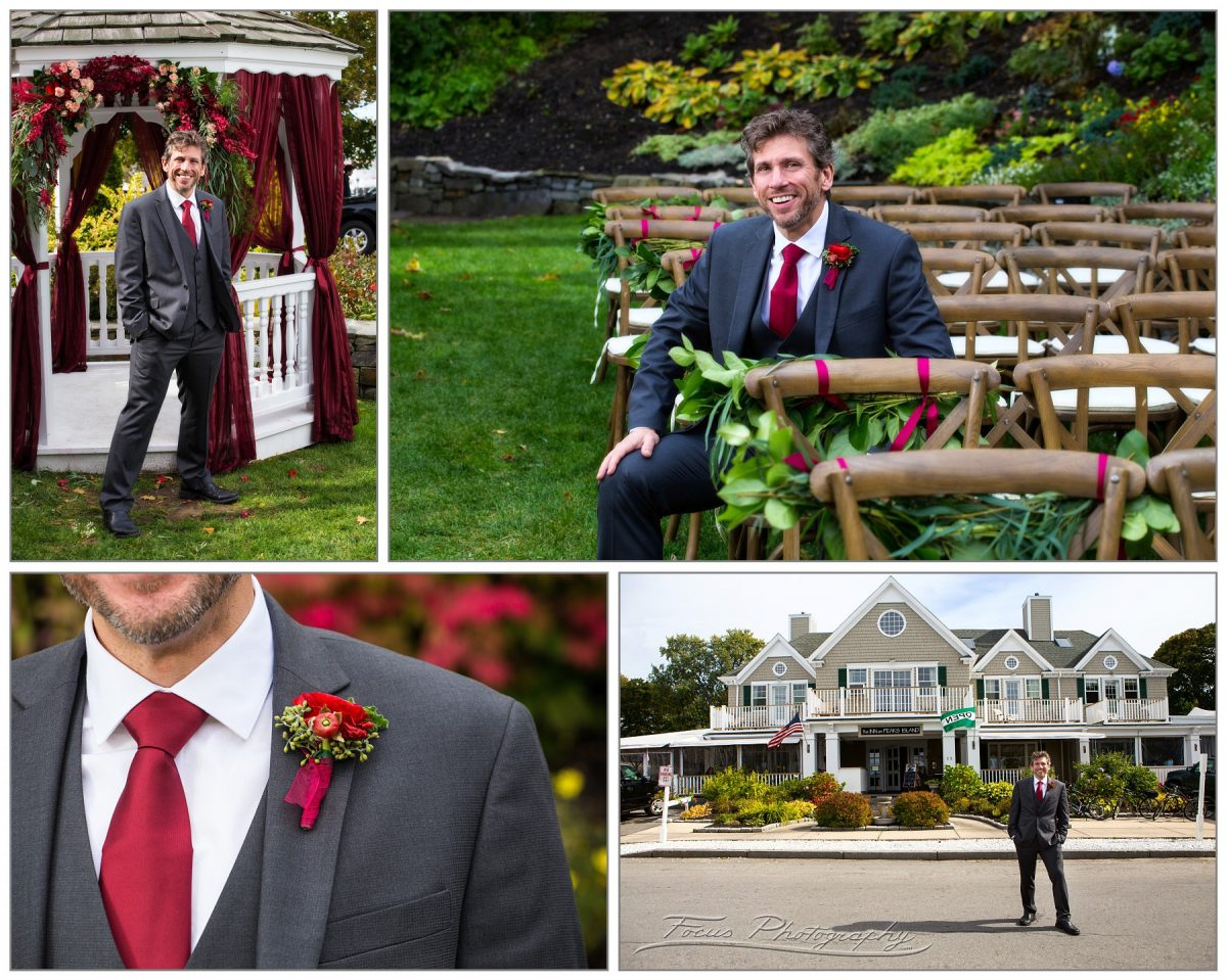 wedding details for groom by maine wedding photographers Focus Photography