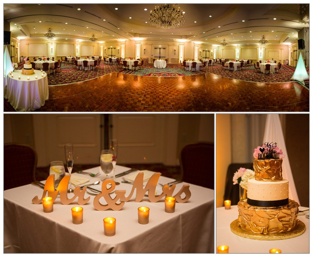 Wentworth ballroom  at Wentworth by the Sea hotel wedding