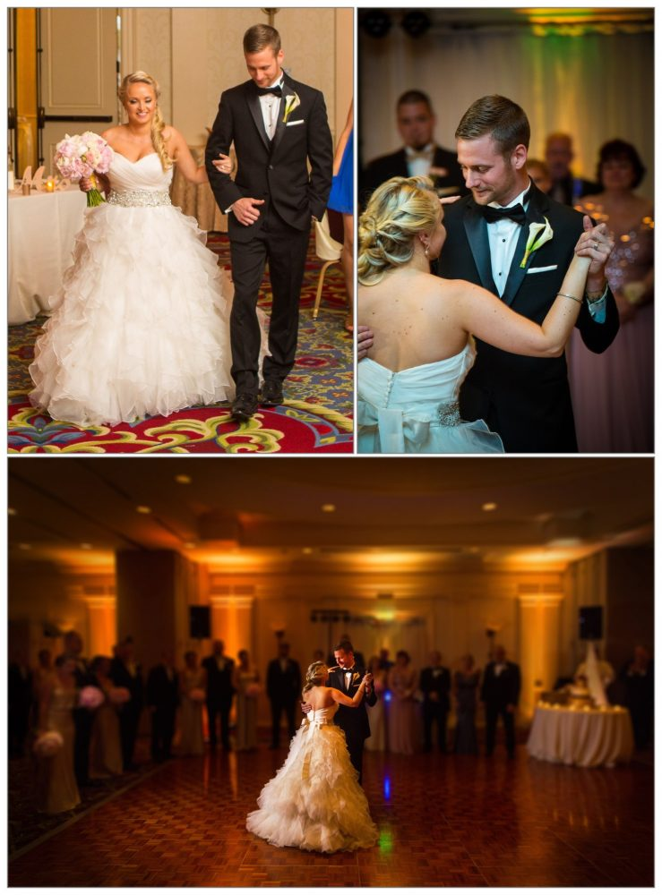 first dance at Wentworth by the Sea hotel wedding