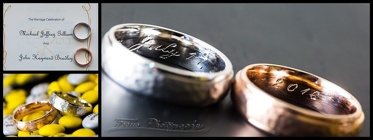 Wedding bands that show date of marriage