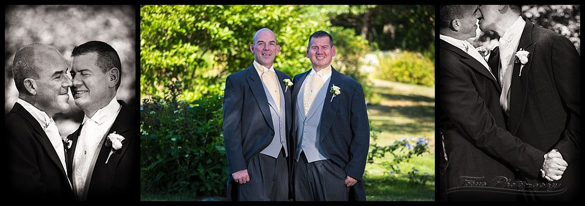 The Grooms - Wentworth by the sea hotel | same sex wedding