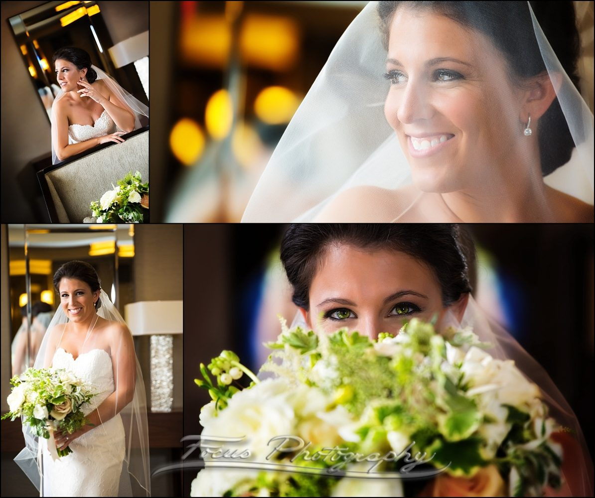 portraits of bride at Westin Wedding, Portland Maine
