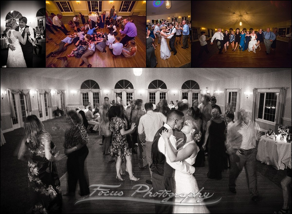 dance floor at Dunegrass wedding | Old Orchard Beach, Maine