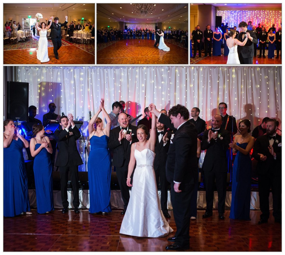 Wentworth by the Sea Hotel first dance at wedding reception