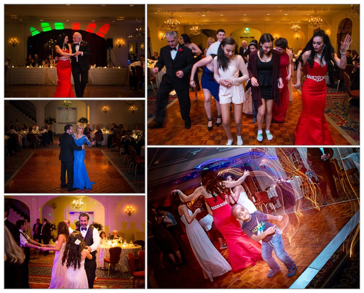 dance pictures from Wentworth by the Sea wedding by new hampshire wedding photographers Focus Photography